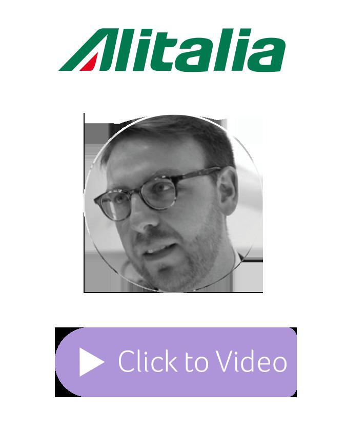 Alitalia Testimonial